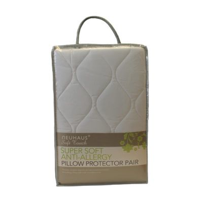 Anti-Allergy Microfibre Pillow Protector Pair
