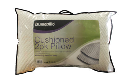 cushioned pillow pair product image