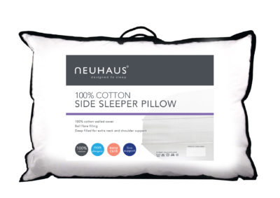 Neuhaus cotton side sleeper pillow