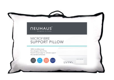 Neuhaus microfibre support pillow