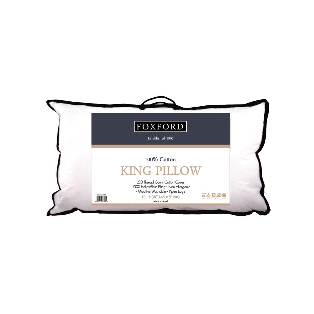 Foxford Luxury King Pillow Pillow Duvet Store